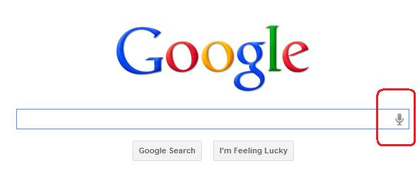 google with voice search