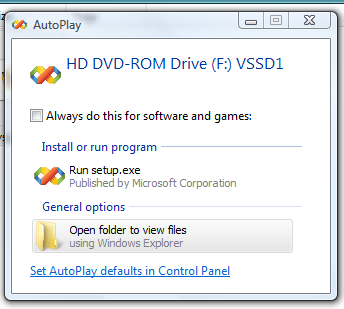 Open file with virtual mount drive