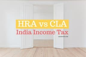 HRA vs CLA - India Income Tax