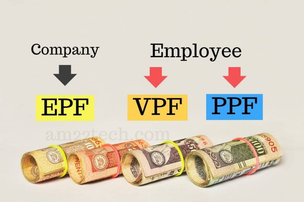 Compare EPF, VPF and PPF for Indian Employee