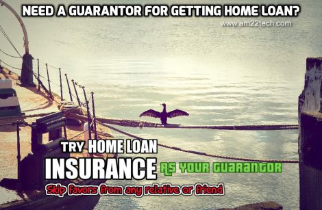 Home loan insurance can act as your guarantor, if you do not have any