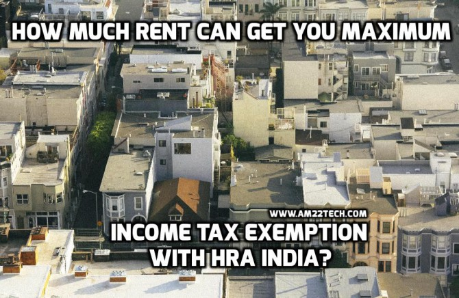 HRA exemption in India