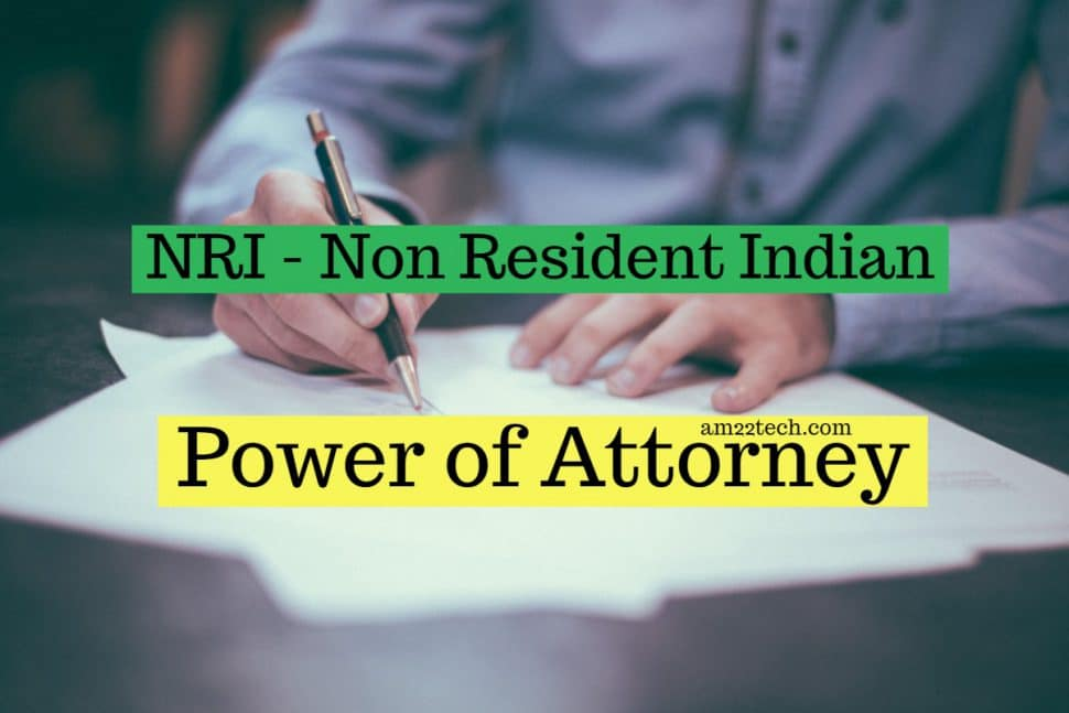 Registered power of attorney for property management in India