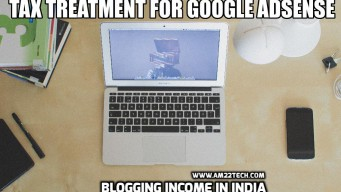 Tax treatment for Google adsense Income in india