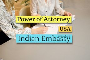 Attestation of Power Of Attorney At Indian Consulate