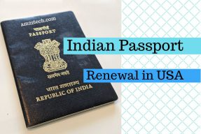 Renew Indian passport in USA - Step by step process