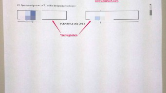 NRI passport renewal form page 3 for India