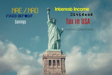 How to file US Tax on NRE, NRO Interest 1099-INT - AM22 Tech
