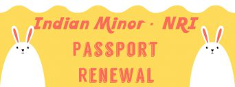 Renew Indian minor passport
