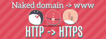 Redirect http to https using google domains DNS
