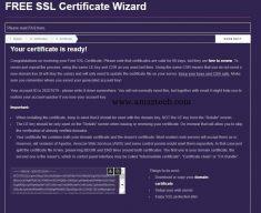 Signed Lets Encrypt certificate