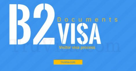 USA B1/B2 visitor visa process and documents