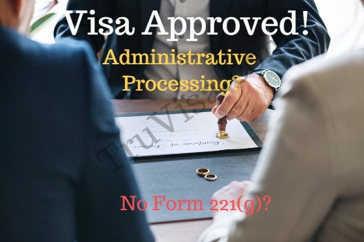 Visa Approved Status Admin Processing, Form 221g Solution - AM22 Tech