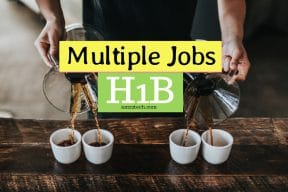 Multiple jobs at the same time with concurrent h1b