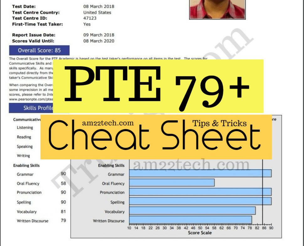 How to Score 79+ PTE Academic In a Week, Tips, Cheat Sheet