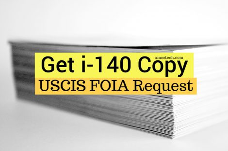 USCIS FOIA request for I-140 information
