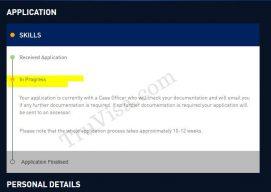 ACS Australia application in progress
