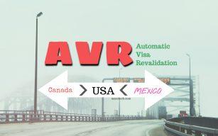 Automatic ReValidation H1b visa Canada Mexico