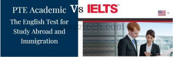 PTE vs IELTS English test comparison