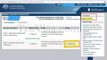 SkillSelect Invited 190 visa