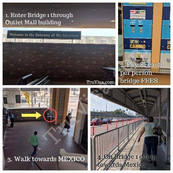 i94 Extension Laredo TX US Mexico Border - Bridge 1
