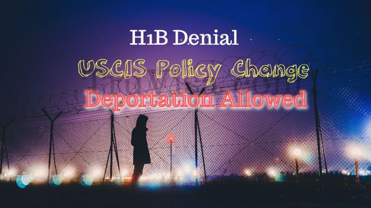 USCIS NTA Policy Starts Oct 1, 2018 - i485, i539 - H4 Visa