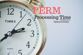 PERM processing time - Updated Daily