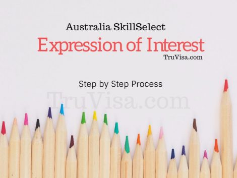 Sample Australia SkillSelect EOI
