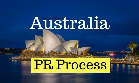Australia PR process steps for 189, 190 visa