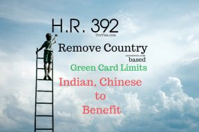 HR 392 Employment based country limit