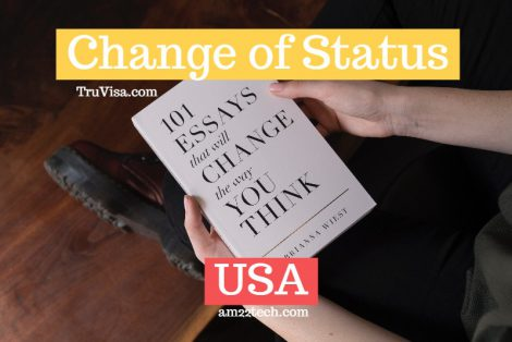 Change of status in USA