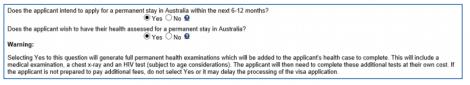 HAP ID for 189 /190 visa