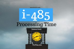 Current i485 processing time