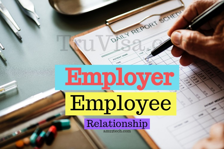employer employee relationship documents and settings