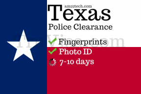 Texas state police clearance process and cost