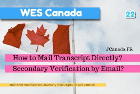 Send transcripts to WES Canada