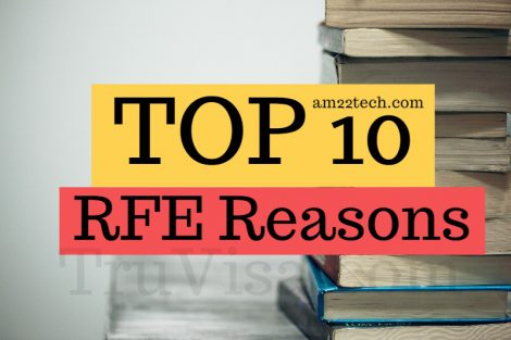 USCIS reasons for RFE