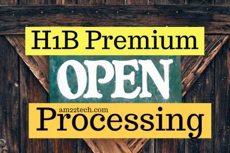 H1B Premium Processing Open - Resumes after a long time