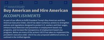USCIS buy american hire american achievements