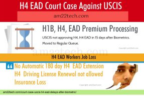 H4 EAD mandamus court case for faster approval