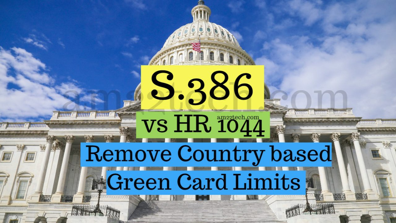 S386 Amendment Deal to Remove Green Card Country Limit