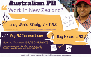 Australia PR Holder can work in New Zealand