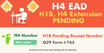 H4 EAD while H1B, H4 extension pending