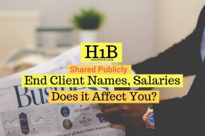 DOL shares H1B end client name data
