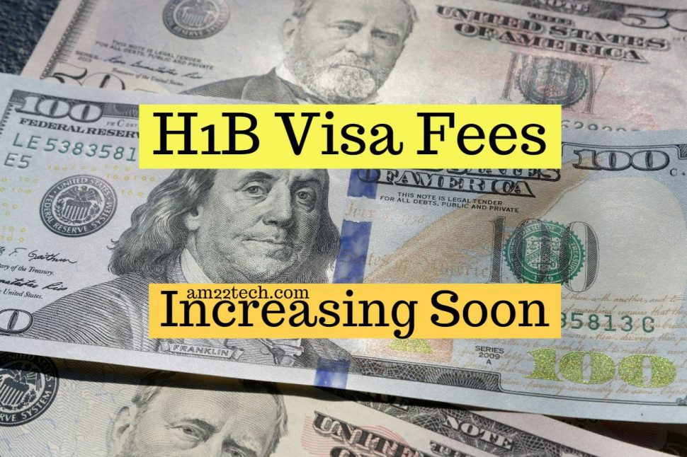 H1B fees increase for lottery applications