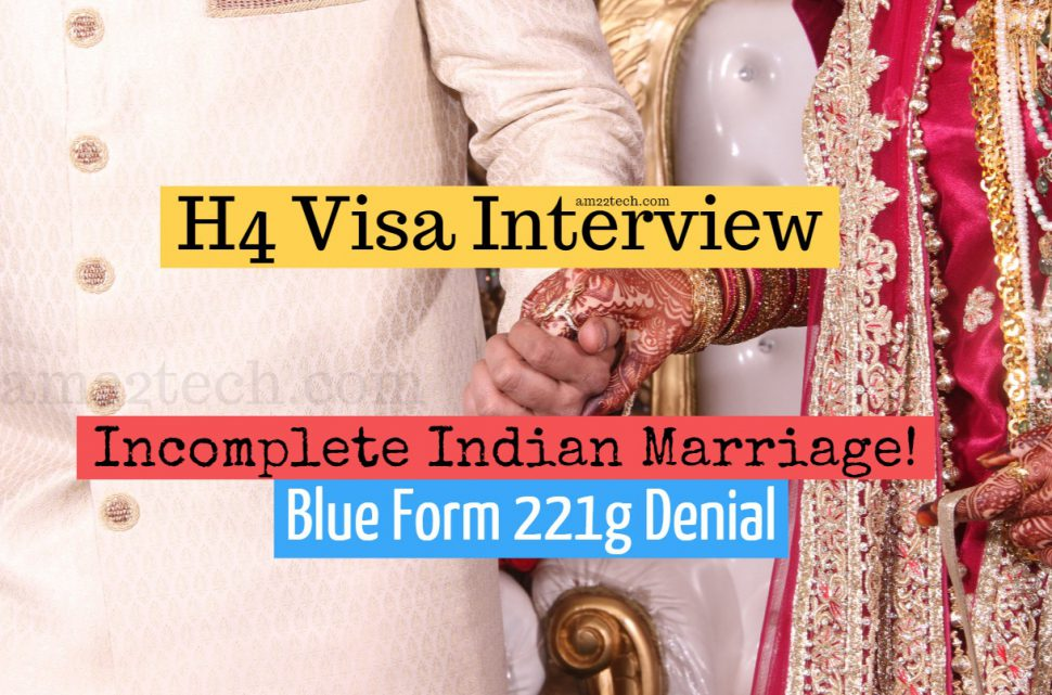 H4 visa interview - Authentic Indian marriage photo Requested