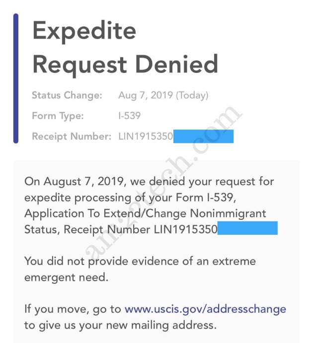 Ead Expedite Request 2019