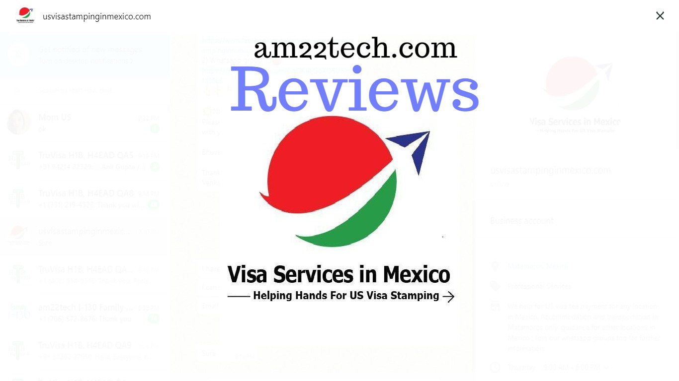 US Visa Stamping In Mexico by Venkat & Ernesto - Review