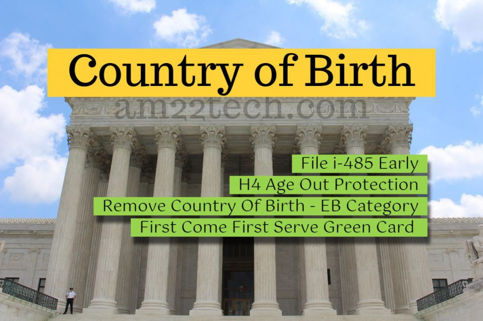 Country of birth removal Eagle Act