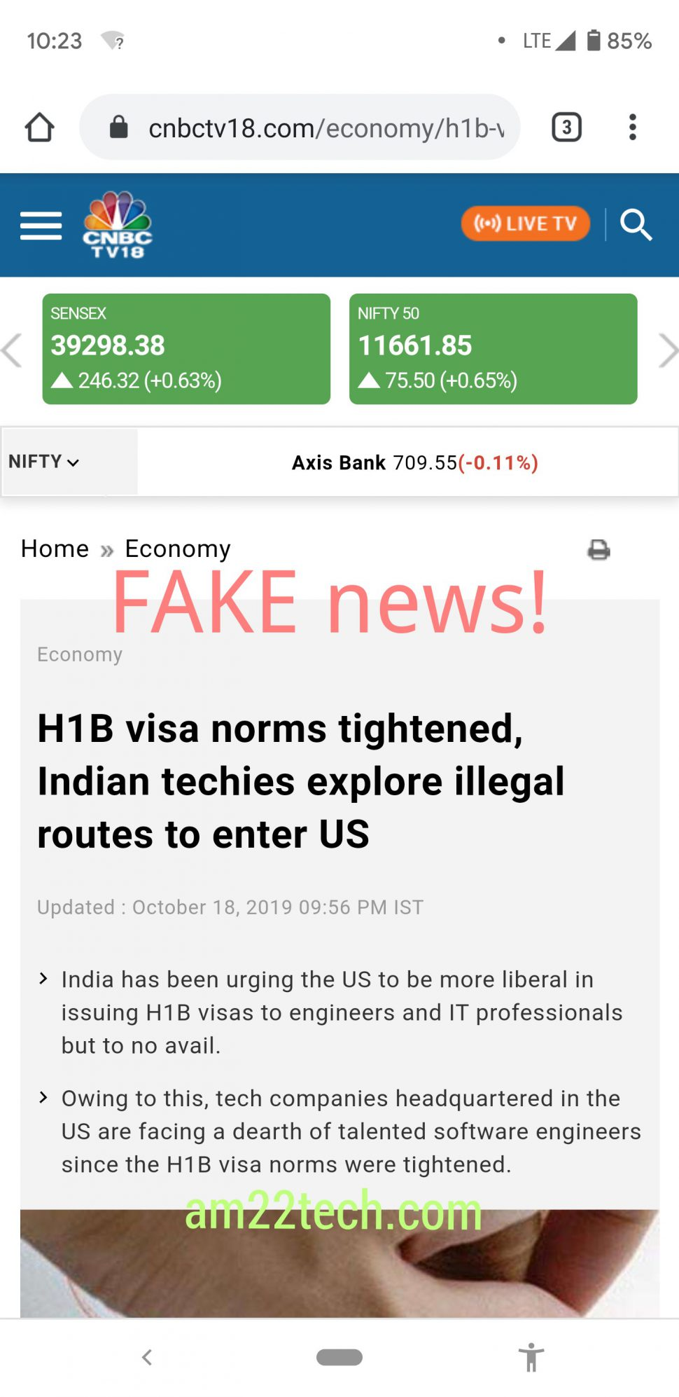 CNBC claims Indian techies will explore illegal ways to enter US